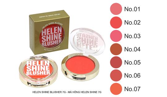 Helen Shine Blusher 7g - Má Hồng Helen Shine 7g