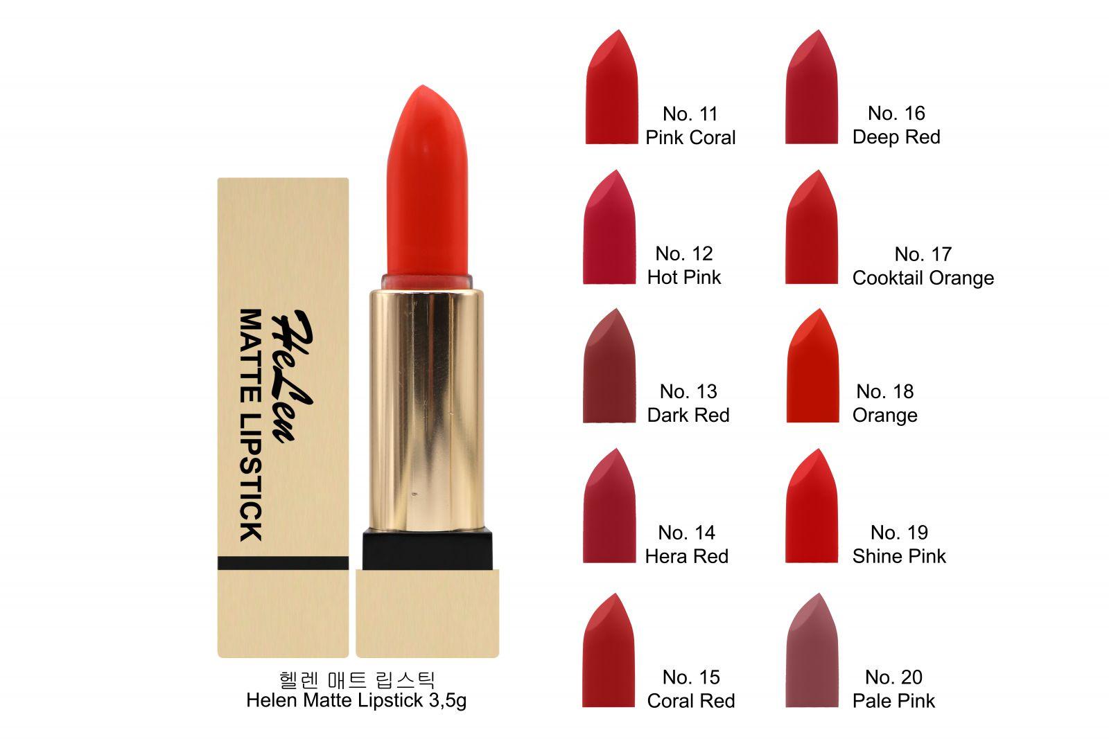 Son helen matte / Helen Matte Lipstick 3,5g